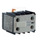 Contact auxiliar frontal, pentru contactor auxiliar TR1K TR5KN11 230V, 50Hz, 2A, 1×NC+1×NO