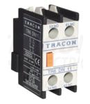 Contact auxiliar frontal, pentru contactor TR1D/F si TR1E TR6DN11 230V, 50Hz, 2A, 1×NC+1×NO