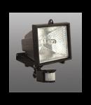 Proiector cu halogen s senzor de miscare 500w Negru Brilux