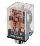 Releu industrial RM11-12DC 12V DC / 3×CO, (3A, 230V AC / 28V DC)