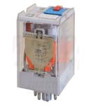 Releu industrial de putere RT08-12AC 12V AC / 2×CO (10A, 230V AC / 28V DC)