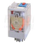 Releu industrial de putere RT11-12AC 12V AC / 3×CO (10A, 230V AC / 28V DC)