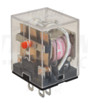 Releu miniaturizat de putere RL11-110DC 110V DC / 3×CO (10A, 230V AC / 28V DC)