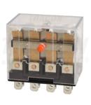 Releu miniaturizat de putere RL14-110DC 110V DC / 4×CO (10A, 230V AC / 28V DC)