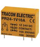 Releu print PR24-1V16A 24V DC / 1×CO (16A, 230V AC / 30V DC)