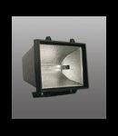 Proiector cu halogen 1000w Negru Brilux