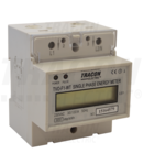 Contor monof.energie el.,direct, afisaj LCD, tip fereastra TVO-F1-WT 230V / 30 (100)A Pd=1W