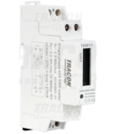 Contor de en. electrica direct,afisaj LCD, monofazat, 1 mod. TVOF11 230VAC / 5(40)A