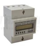 Contor electronic trifazat de energie el.,afisaj LCD, 4 mod TVO-F3-4M 400V / 10 (100)A Pd=3W