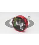 Banda izolatoare, rosie P10-15 10m×15mm, PVC, 0-90°C, 40kV/mm