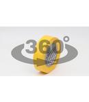 Banda izolatoare, galbena S10-15 10m×15mm, PVC, 0-90°C, 40kV/mm