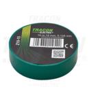Banda izolatoare, verde Z10-15 10m×15mm, PVC, 0-90°C, 40kV/mm