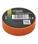 Banda izolatoare, portocalie N10 10m×18mm, PVC, 0-90°C, 40kV/mm