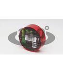 Banda izolatoare, rosie P10 10m×18mm, PVC, 0-90°C, 40kV/mm