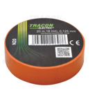 Banda izolatoare, portocalie N20 20m×18mm, PVC, 0-90°C, 40kV/mm