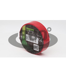 Banda izolatoare, rosie P20 20m×18mm, PVC, 0-90°C, 40kV/mm