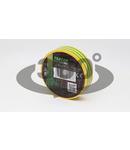 Banda izolatoare, verde-galben ZS20 20m×18mm, PVC, 0-90°C, 40kV/mm