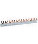 Sina de legatura, tip furca TFSS-2V max.63A, 230/400VAC, 2P, 56modul, 1m