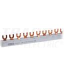 Sina de legatura, tip furca TFSS-3V max.63A, 230/400VAC, 3P, 56modul, 1m