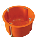 Doza ghips-carton, fara capac, portocaliu GD6021 65×45mm