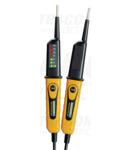 Aparat bipolar de tensiune cu LED, tester prot.diferentiala PANVOLTTESTER400FI 6‐400V AC/DC, 30mA FI‐Test