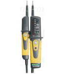 Aparat bipolar de tensiune cu LED, tester prot.diferentiala PANMV-690A 12-690V AC/DC