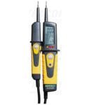 Aparat bipolar de tensiune cu LED, tester prot.diferentiala PANMV-690B 12-690V AC/DC, 30mA FI-Test
