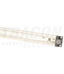 LED inseriabil pentru mobilier, constructie plata LLBS5CW 12 VDC, 5 W, 470 lm, 6000 K, 72×SMD3528, EEI=A