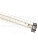 LED inseriabil pentru mobilier, constructie triunghiulara LSBS5WW 12 VDC, 5 W, 420 lm, 3000 K, 72×SMD3528, EEI=A