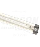 LED inseriabil pentru mobilier, constructie triunghiulara LSBS11WW 12 VDC, 11 W, 800 lm, 3000 K, 144×SMD3528, EEI=A