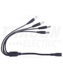 Cablu distributie 1:4 pentru CIL LED inseriabil pt.mobilier LBSC41 0,65 m