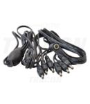Cablu distributie 1:6 pentru CIL LED inseriabil pt.mobilier LBSC61 1,2 m