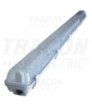 Corp de iluminat protejat pt.tub LED,alimentare la un capat TLFVLED112 230 V, 50 Hz, G13, 1200 mm, IP65, ABS/PC, EEI=A++,A+,A