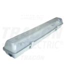 Lampi fluorescente industriale cu balast electronic TLFV-118E 230V, 50Hz, T8, G13, 1×18 W, IP65, ABS/PC, A2, EEI=A