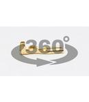Mufa glisanta neizolata, alama CSH5 4,8×0,5mm, 0,5-1mm2