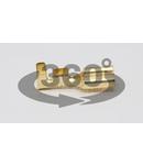 Mufa glisanta neizolata, alama, pin de fixare CSH6-B 6,3×0,8mm, 1-2,5mm2