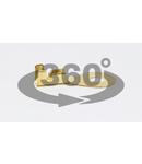 Papuc inelar neizolat din alama HSZ4 1-2,5mm2, M4