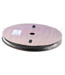 Tub termocontractabil,subtire,3:1, cu adeziv,negru,pe tambur ZSVR48-D 4,8/1,6mm, POLIOLEFIN