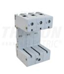 Soclu pentru descarcatoare de supratensiuni TTV-B3 3P