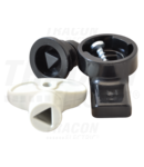 Incuietoare din mat. plastic pt. cutii TME, triunghi TME-ZMH 8.5mm