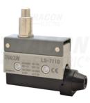 Limitator cursa cu tampon conic LS7110 1×CO, 2A/230V AC, 22mm, IP40