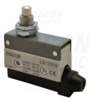Limitator cursa cu tampon conic LS7310 1×CO, 2A/230V AC, 25mm, IP40