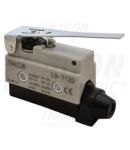 Limitator de cursa cu tija si arc LS7120 1×CO, 2A/230V AC, 65mm, IP40