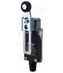 Limitator de cursa cu brat reglabil si rola LSME8108 1×NO+1×NC, 5A/250V AC, 20-90mm, IP65