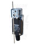 Limitator de cursa brat balansier+tija LSME8107 1×NO+1×NC, 5A/250V AC, 0-100mm, IP65