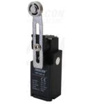 Limitator de cursa cu bratreglabil si rola VP145-S 1×NO+1×NC, 6A/230V AC, 30-60mm, IP65