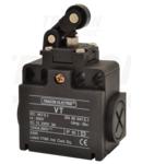 Limitator de cursa cu rola si tampon VT121 1×NO+1×NC, 6A/230V AC, IP65