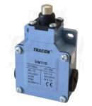 Limitator de cursa cu tampon conic, carcasa metalica VM110 1×NO+1×NC, 6A/230V AC, IP66