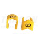 Marcaj cablu, 9, blocant J49P 4-10mm2