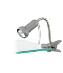 Lampa cu clama FABIO silver 220-240V,50/60Hz IP20
